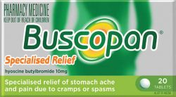 Buscopan® Specialised Relief Tablets